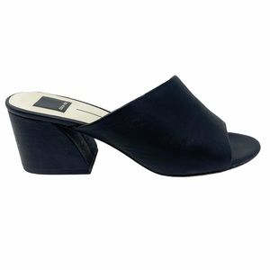 Dolce Vita | Juels Leather Block Heeled Mules